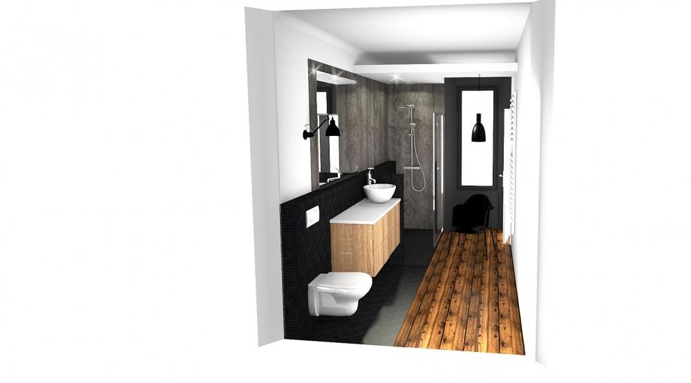 salle de bain cl en main gap maison des annes 50